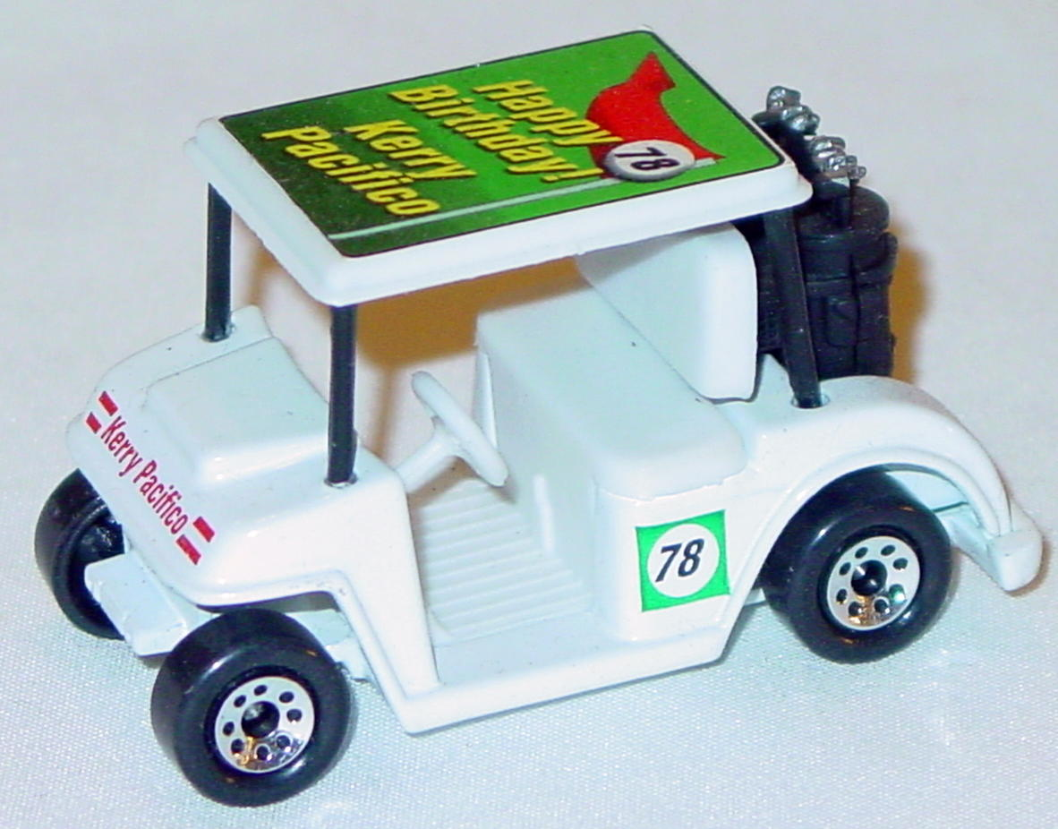 ASAP-CCI 75 J 16 - Golf Cart White Birthday Kerry Pacifico 78 CCI