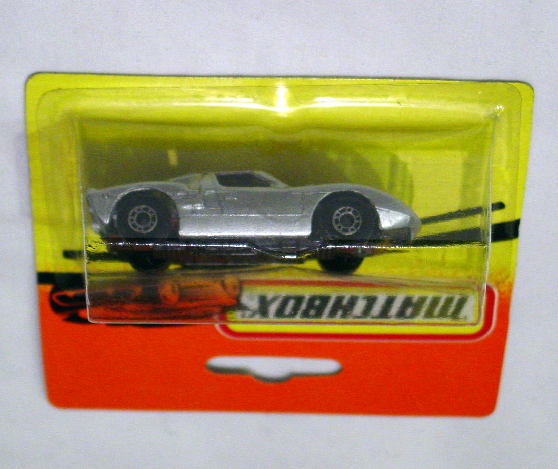 Bulgarian 41 A 12 - Ford GT met Silver black base red interior