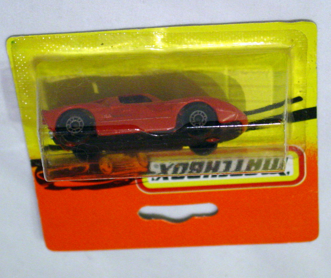 Bulgarian 41 A 5 - Ford GT dull Orange charcoal base red interior