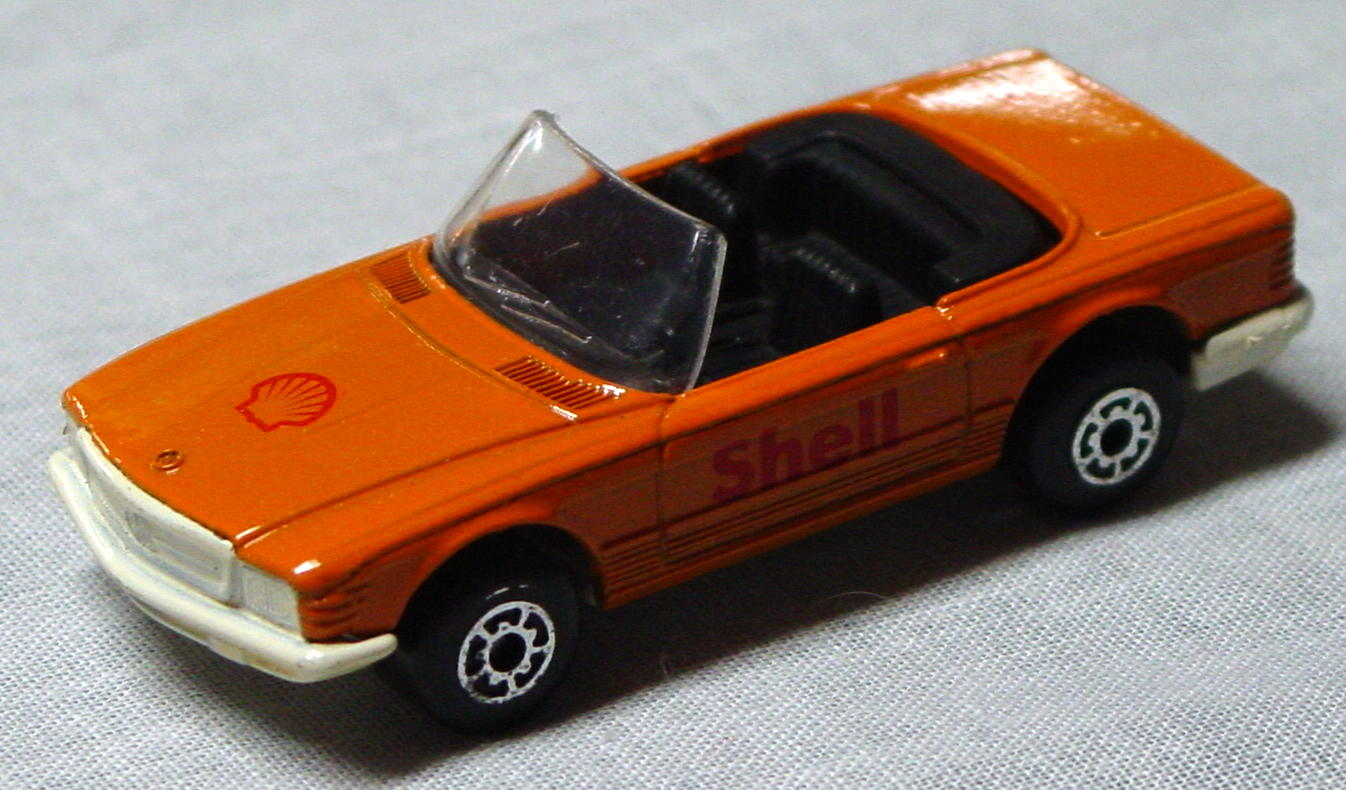 Bulgarian 06 B 5 - Mercedes 350SL Orange ivory base Shell