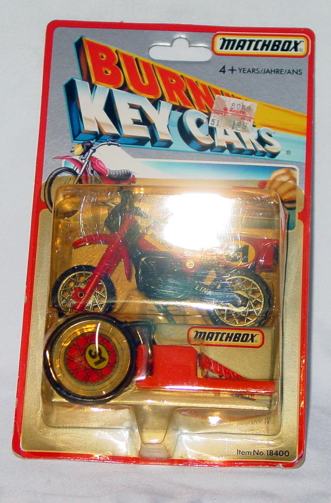Offshore SuperFast - BURNINKEYCARS 1983 Motorcycle Red Moto-X 31