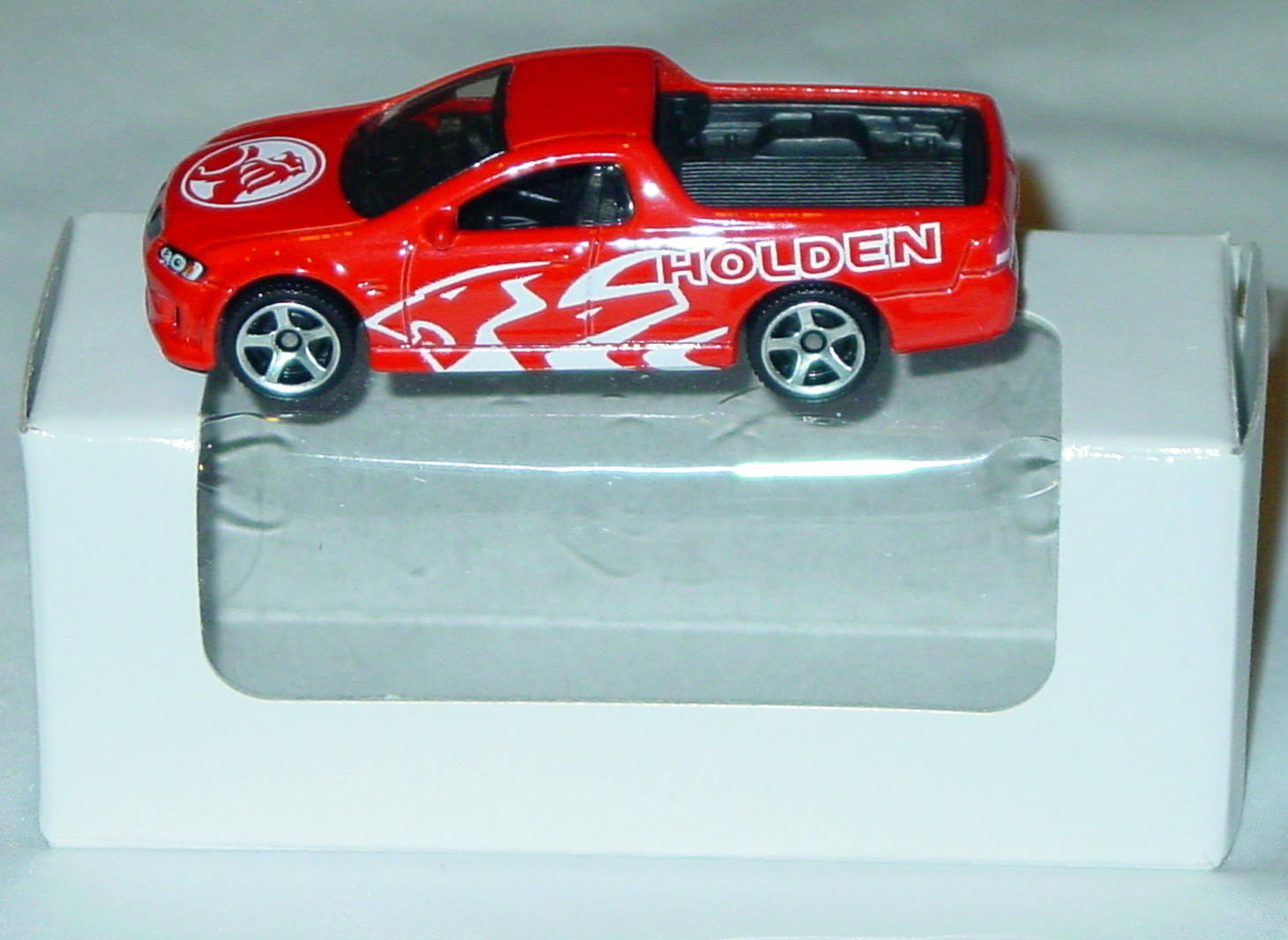 ASAP-CCI 02 P - MODELoftheMONTH 9/12  Holden Ute red-Orange Racing