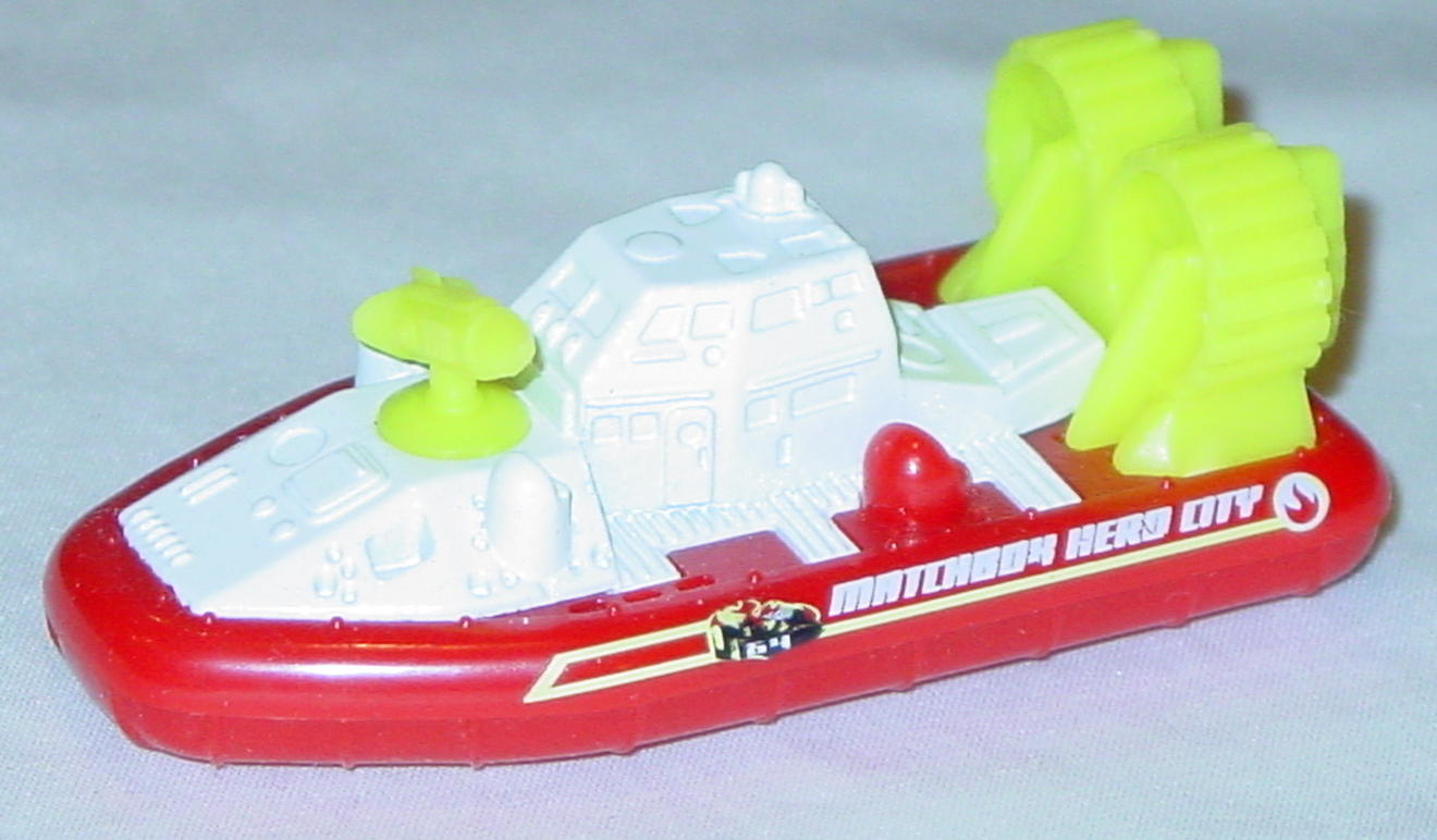 Offshore SuperFast 62 M 4 - 2003 64 Hovercraft White and red MBX Hero City made in China