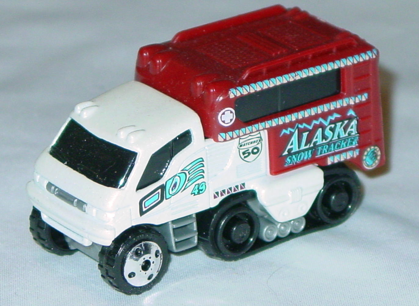 Offshore SuperFast 06 I 3 - Arctic Track Truck iridescent White 49 Alaska made in China