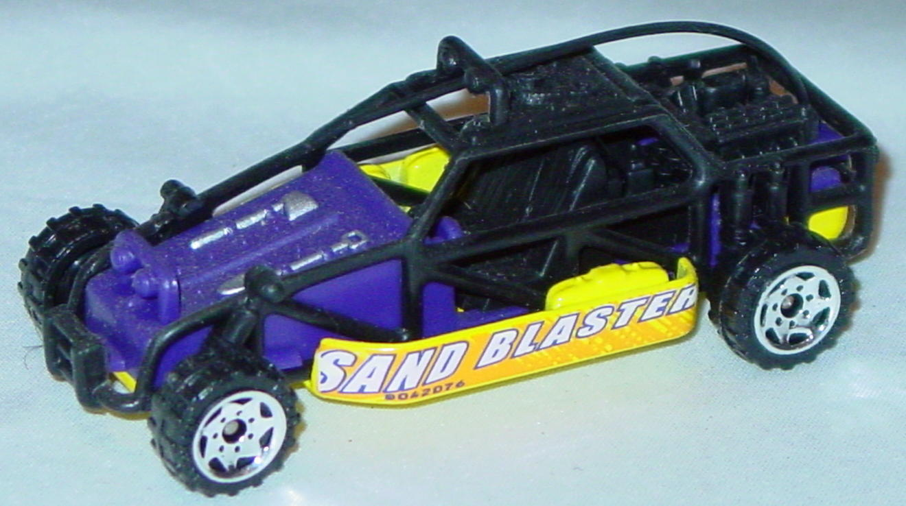 Offshore SuperFast 92 A 6 - 2001 35 Dune Buggy Purple black cage Sand Blaster