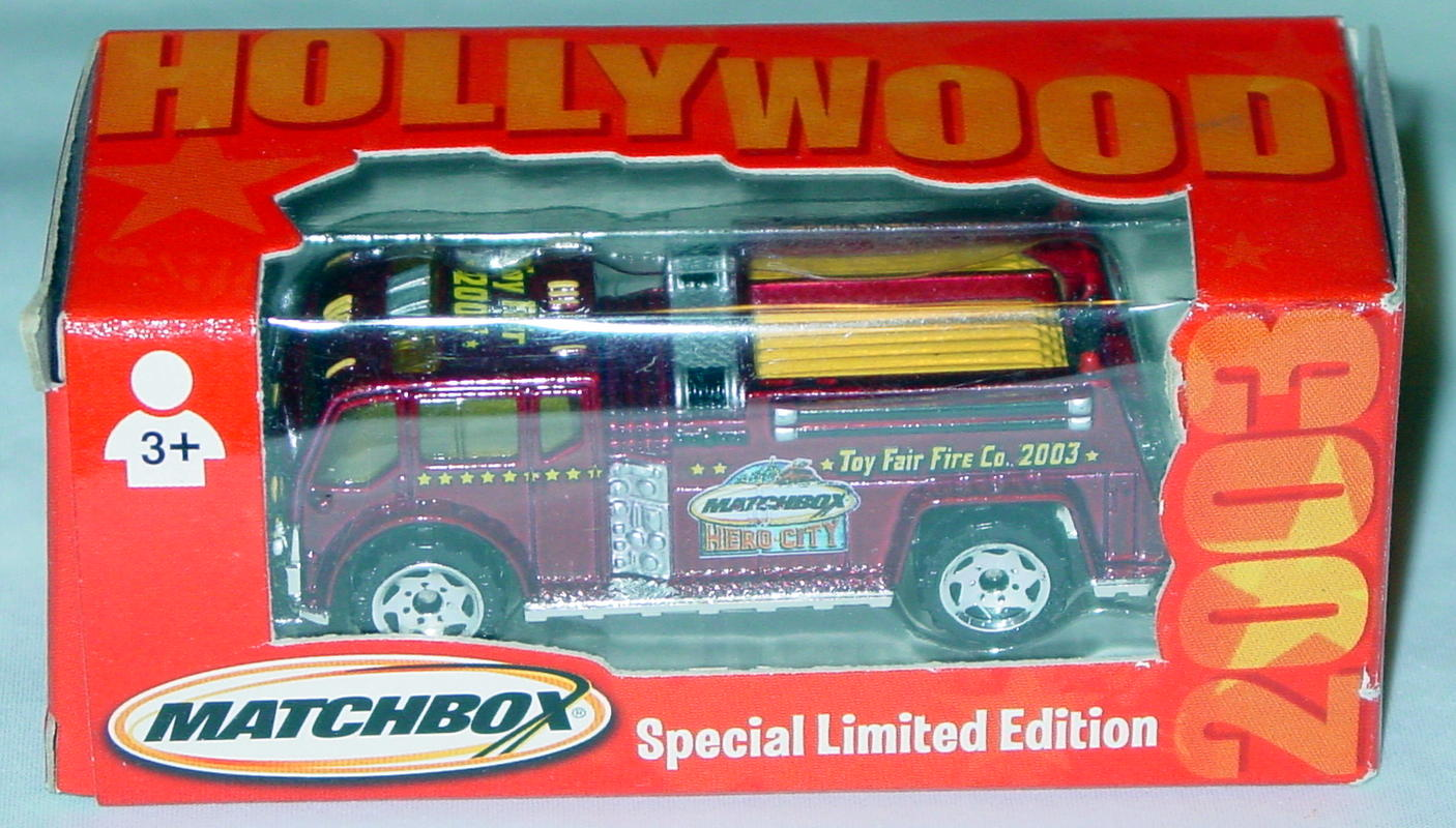 Offshore SuperFast - Fire truck met Maroon Toy Fair 03 Hollywood Hero City