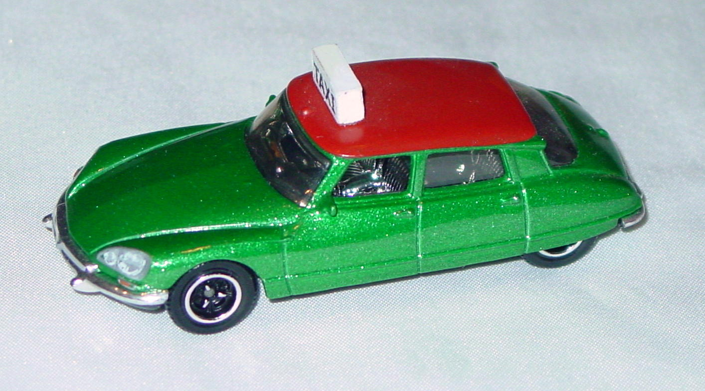 ASAP-CCI 01 P - MODELoftheMONTH 11/08 Citroen Taxi Green/Red LTD10