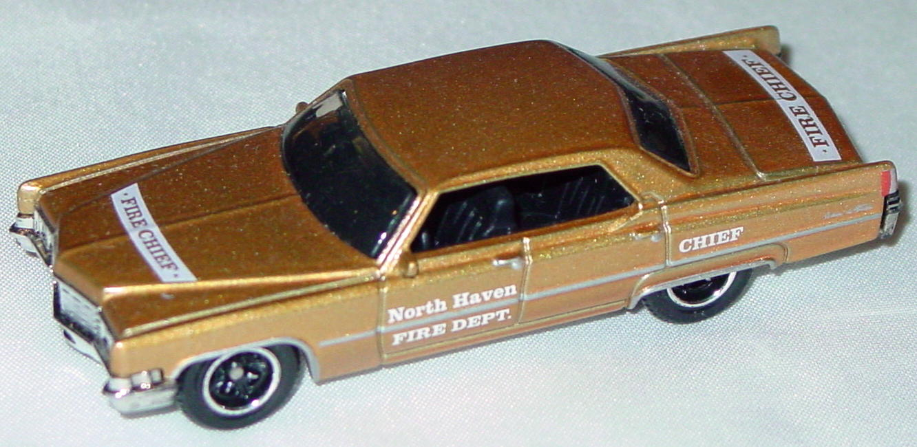 ASAP-CCI 02 N - MODELoftheMONTH 5/09 Caddy DeVille Gold LTD 10!