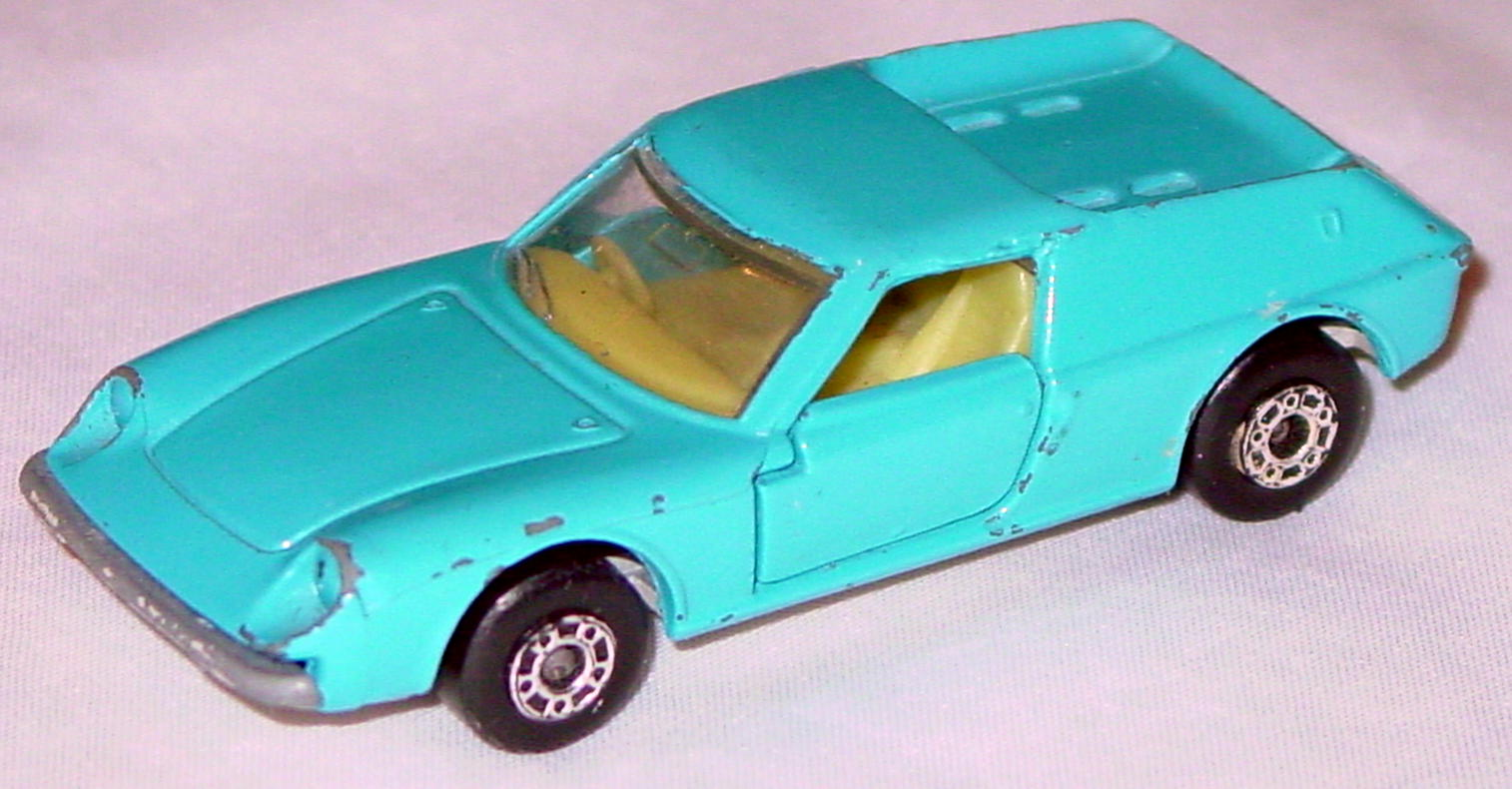 Bulgarian 05 A 1 - Lotus Europa light Blue sil-grey base light yellow interior clear