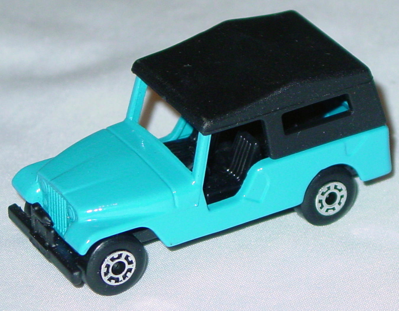 Hungarian 53 C 1 - CJ6 Jeep light Blue black interior black roof black base