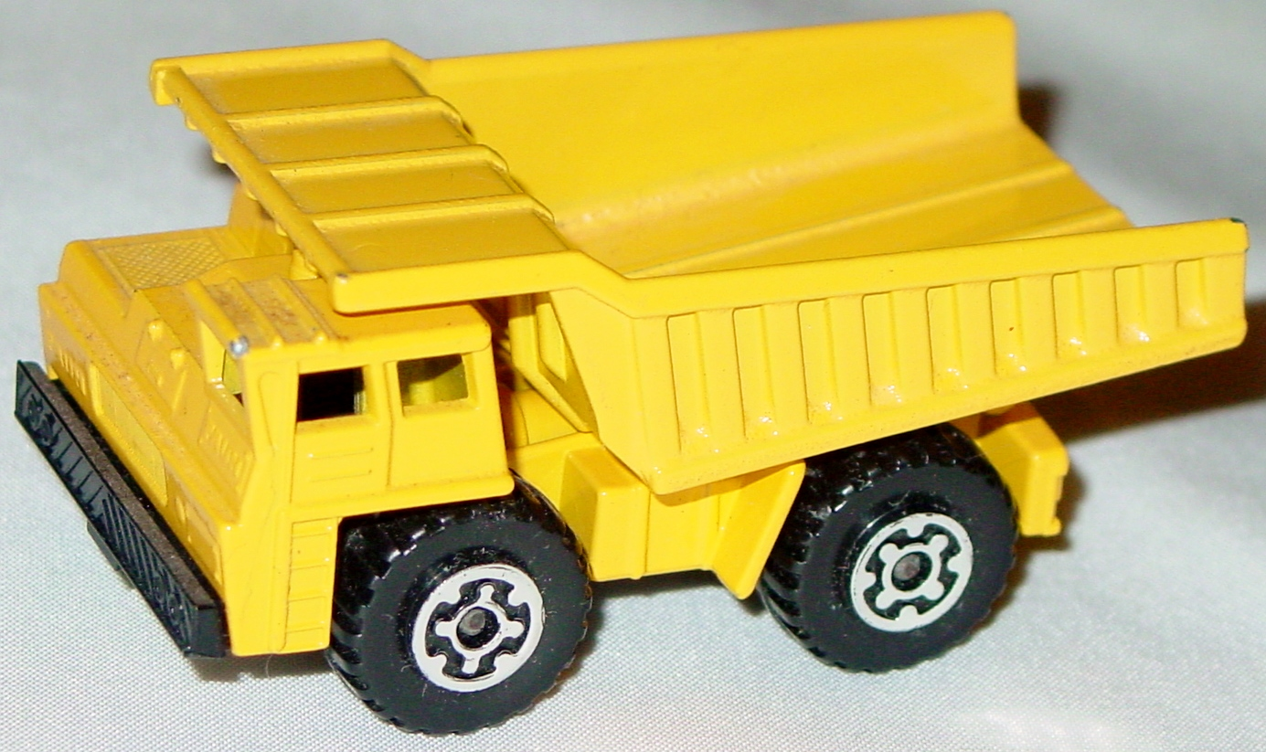 Lesney SuperFast 58 C 2 - Faun Dumper Yellow body/dump