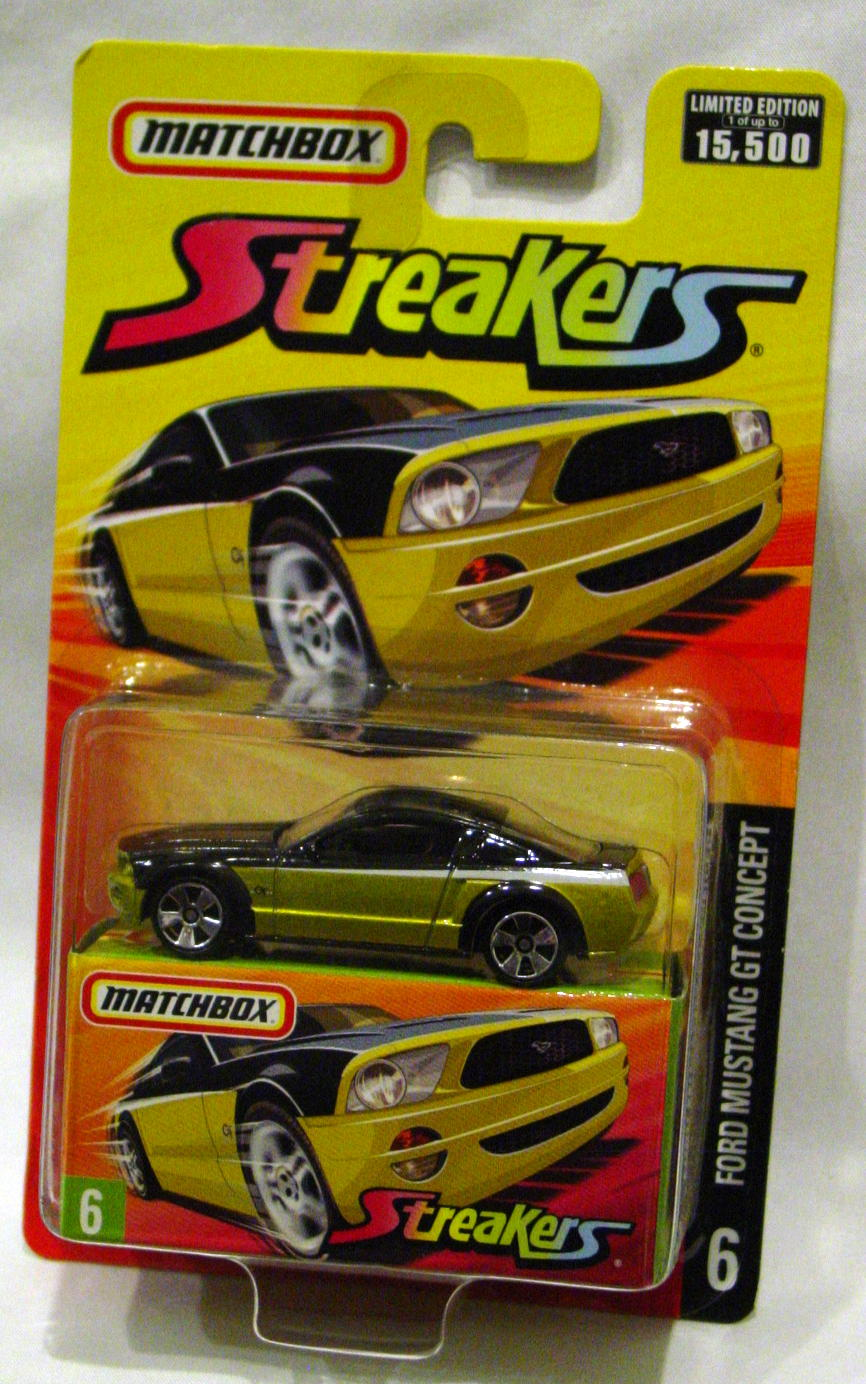 Offshore SuperFast 06 K - 2006 SF 6 Mustang GT Concept Black and light met Gold