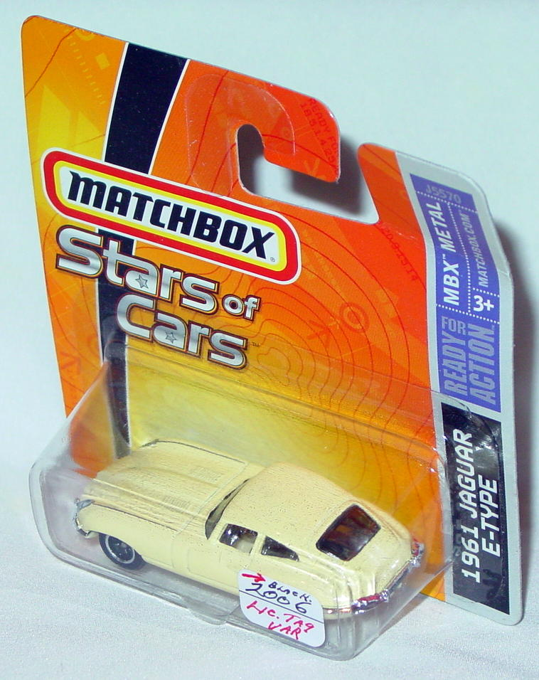 Offshore SuperFast 04 L - 2006 STARS of CARS 61 E-Type Jag pale Yellow black license
