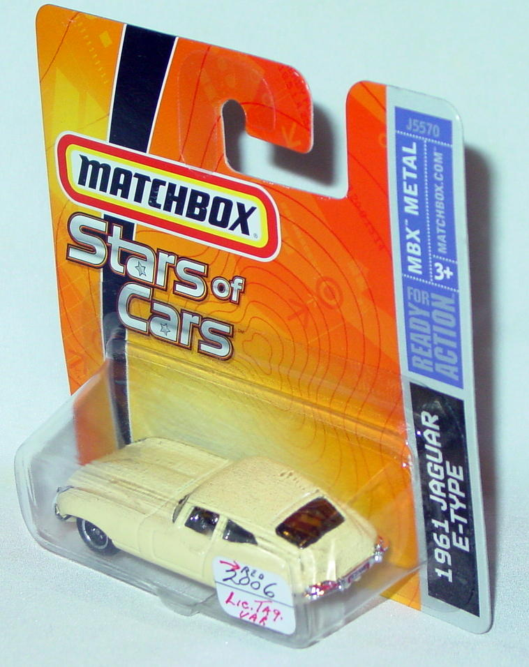 Offshore SuperFast 04 L - 2006 STARS of CARS 61 E-Type Jag pale Yellow red license