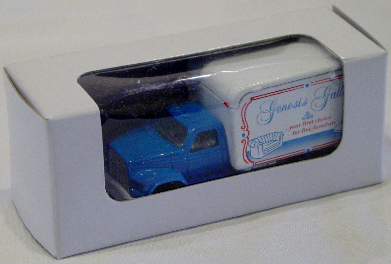 ASAP-CCI - FS001 MODELoftheMONTH 2/10 Moving truck Blue Genesis