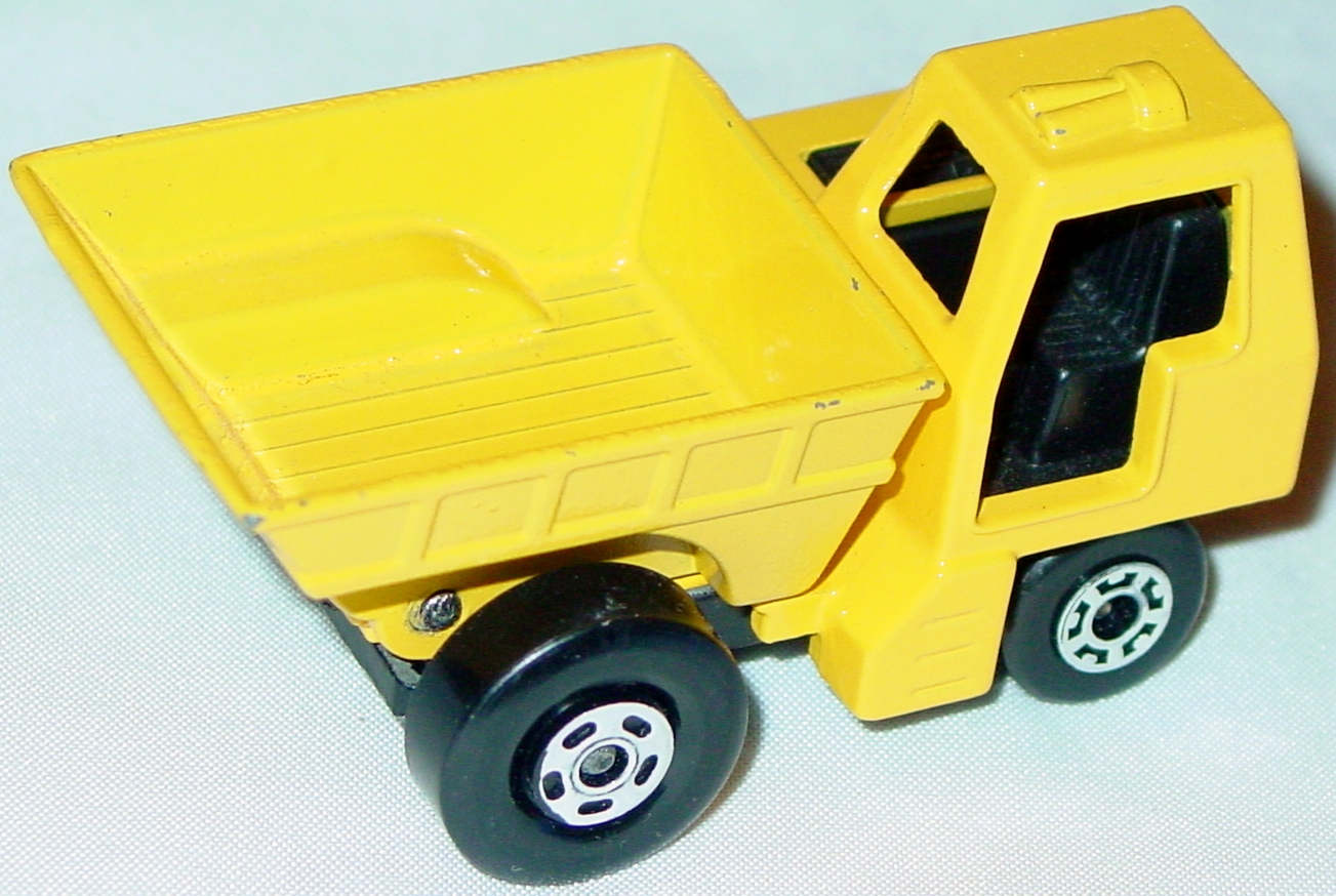 Lesney SuperFast 26 C 2 - Site Dumper yellow and yellow 5-spoke/5-crn
