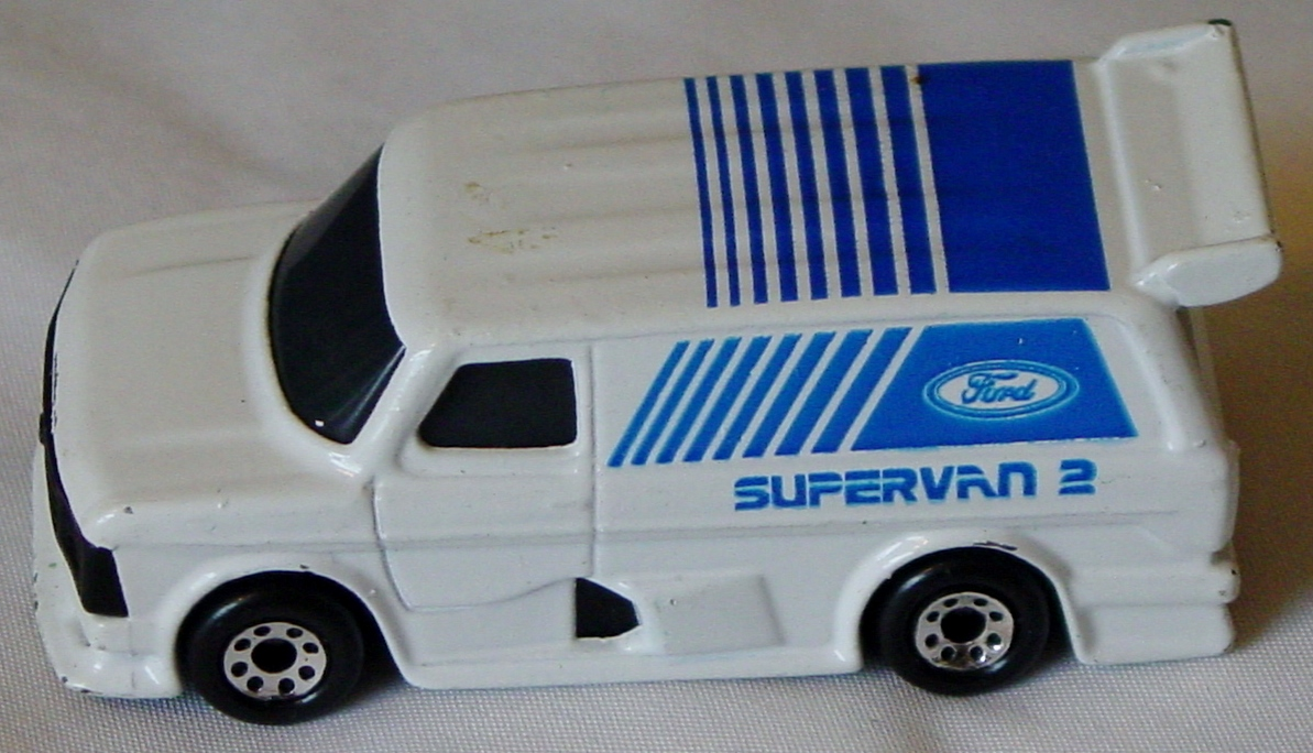 Offshore SuperFast 06 E 1 - Ford SuperVan White lighter dark blue tampo Made in Macau