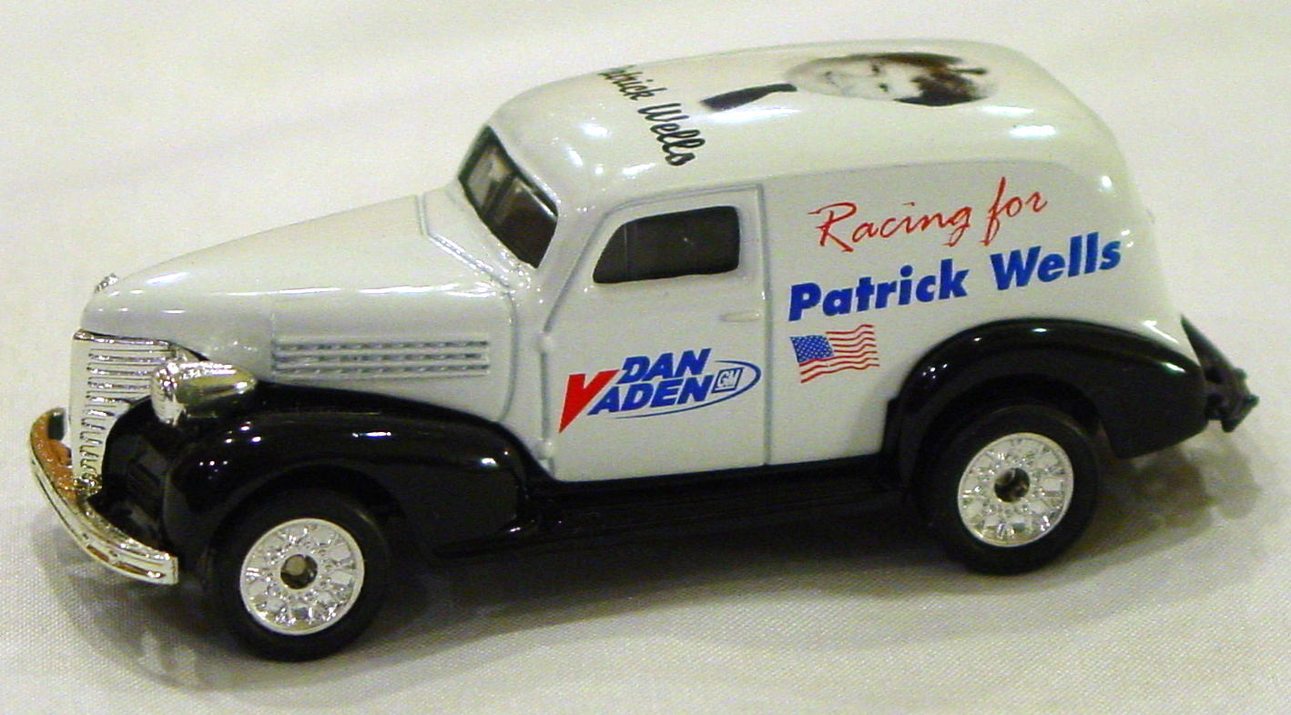 ASAP-CCI 215 A 39 - Chevy Panel Van White Racing for Patrick Wells CCI