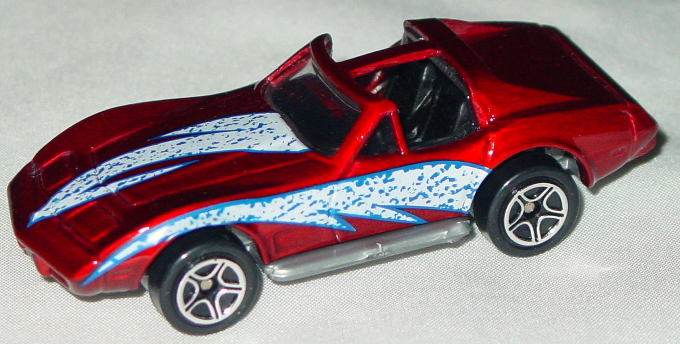Offshore SuperFast 40 C 41 - 1998 74 Corvette T roof met Red white and pur tampo made in China