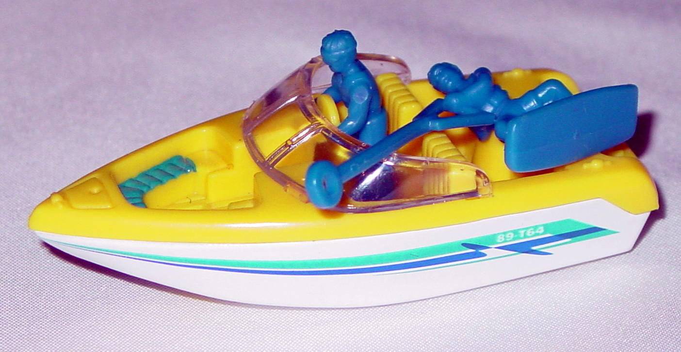 Offshore SuperFast 41 K 1 - 1999 36 Ski Boat yellow and white blue and blue tampo made in China