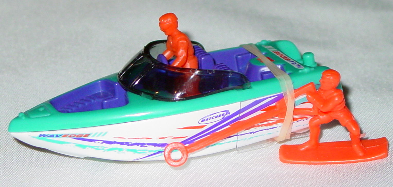 Offshore SuperFast 41 K 3 - Ski Boat Blue and orange purple and orange and blue tampo made in China