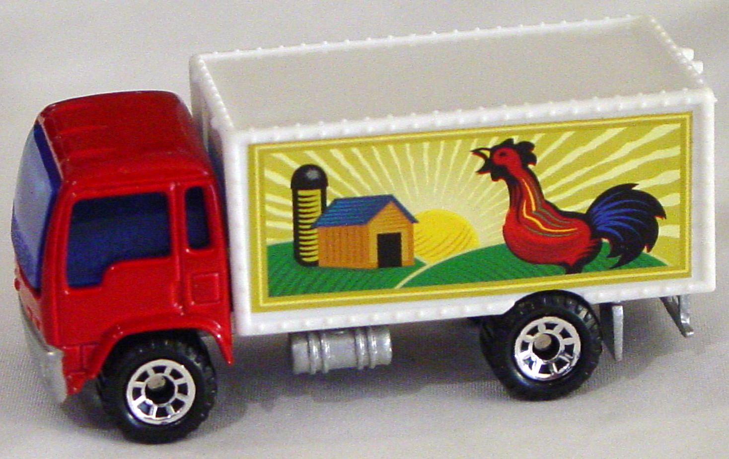 Offshore SuperFast 48 J 1 - Delivery Truck Red white cont lighter rooster tampo made in China