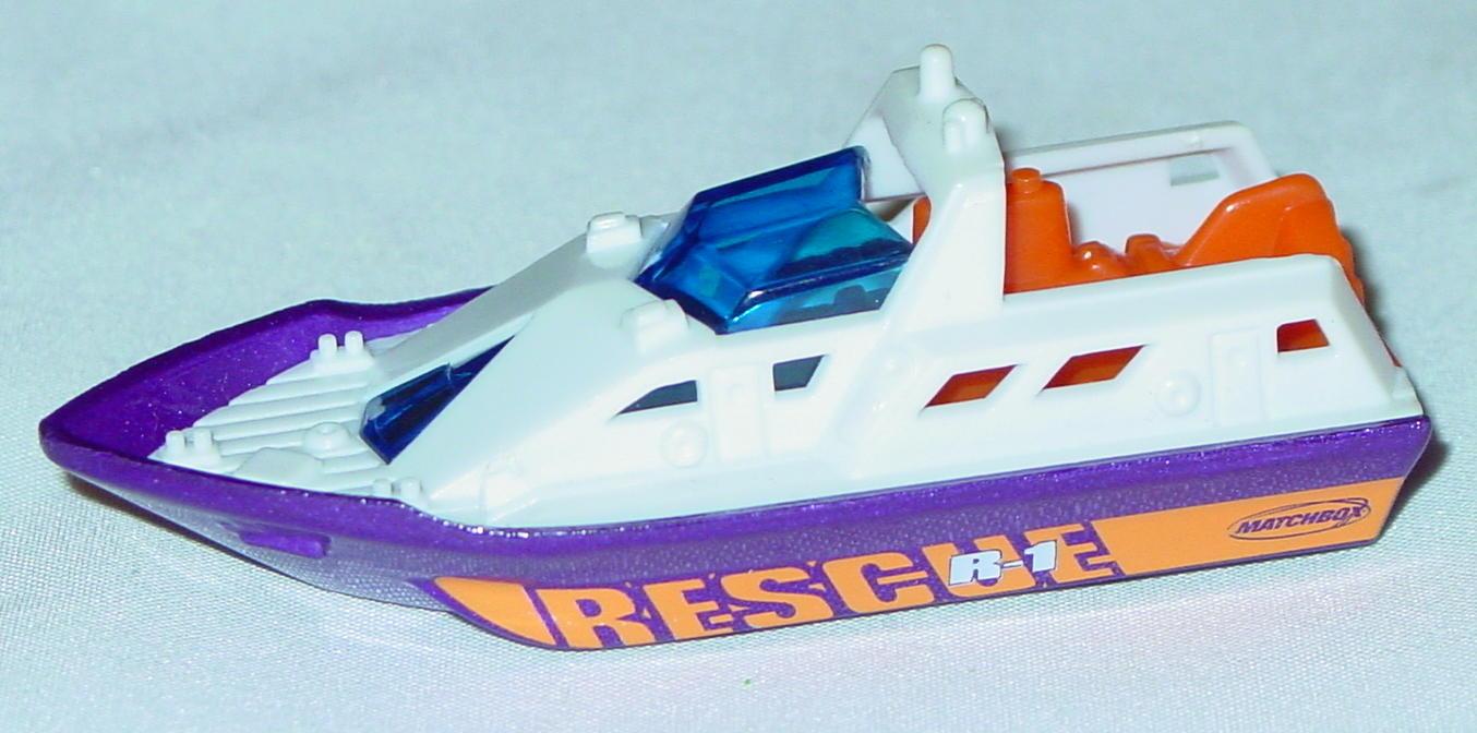 Offshore SuperFast 61 M 1 - 2001 61 Rescue Boat White purple hull Rescue R1 made in China