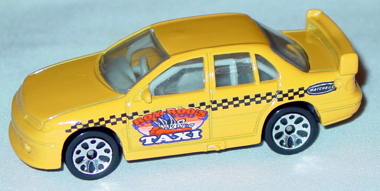 Offshore SuperFast 63 J 25 - 2002 04 Ford Falcon org-Yellow Roy Roos Taxi made in China