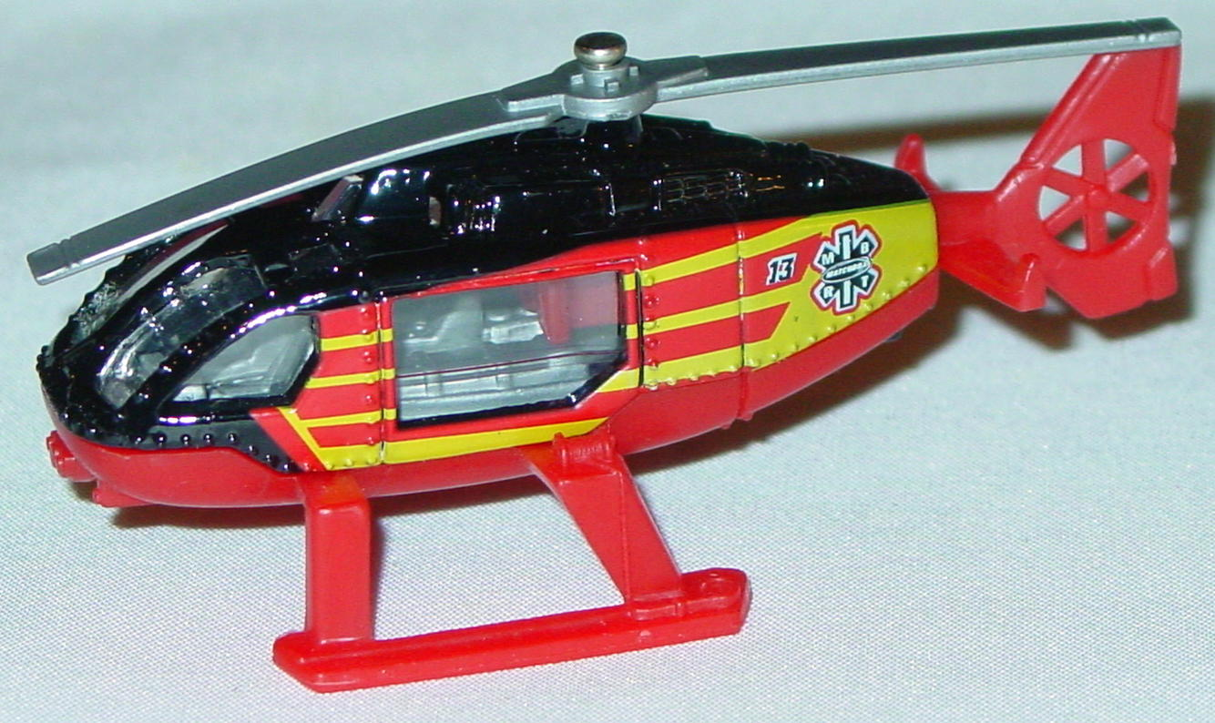 Offshore SuperFast 63 O 3 - 2003 13 Rescue Heli Black sil-Grey blades yellow tampo made in China