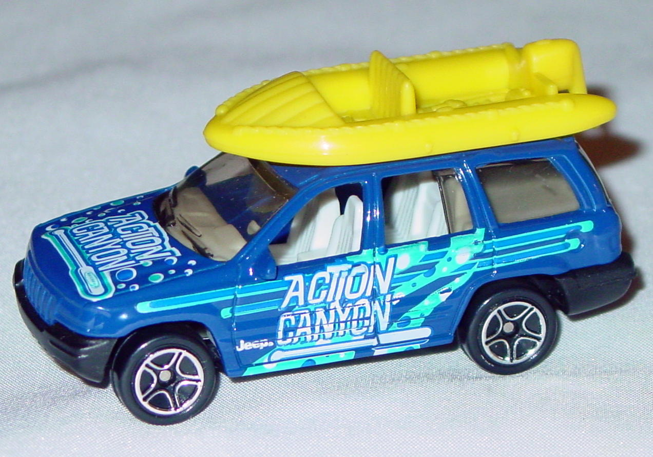 Offshore SuperFast 65 I 4 - 2001 22 Jeep Grand Cherokee Blue yellow raft Canyon