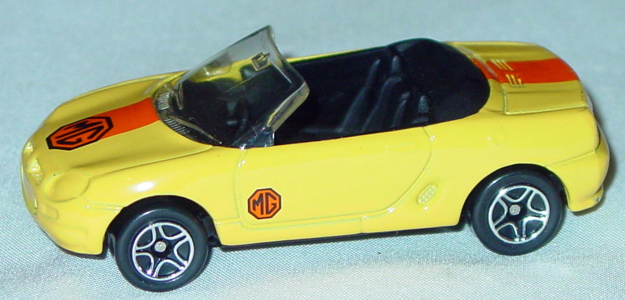 Offshore SuperFast 66 I 1 - 1998 66 MGF Yellow darker orange band tampo MG made in China