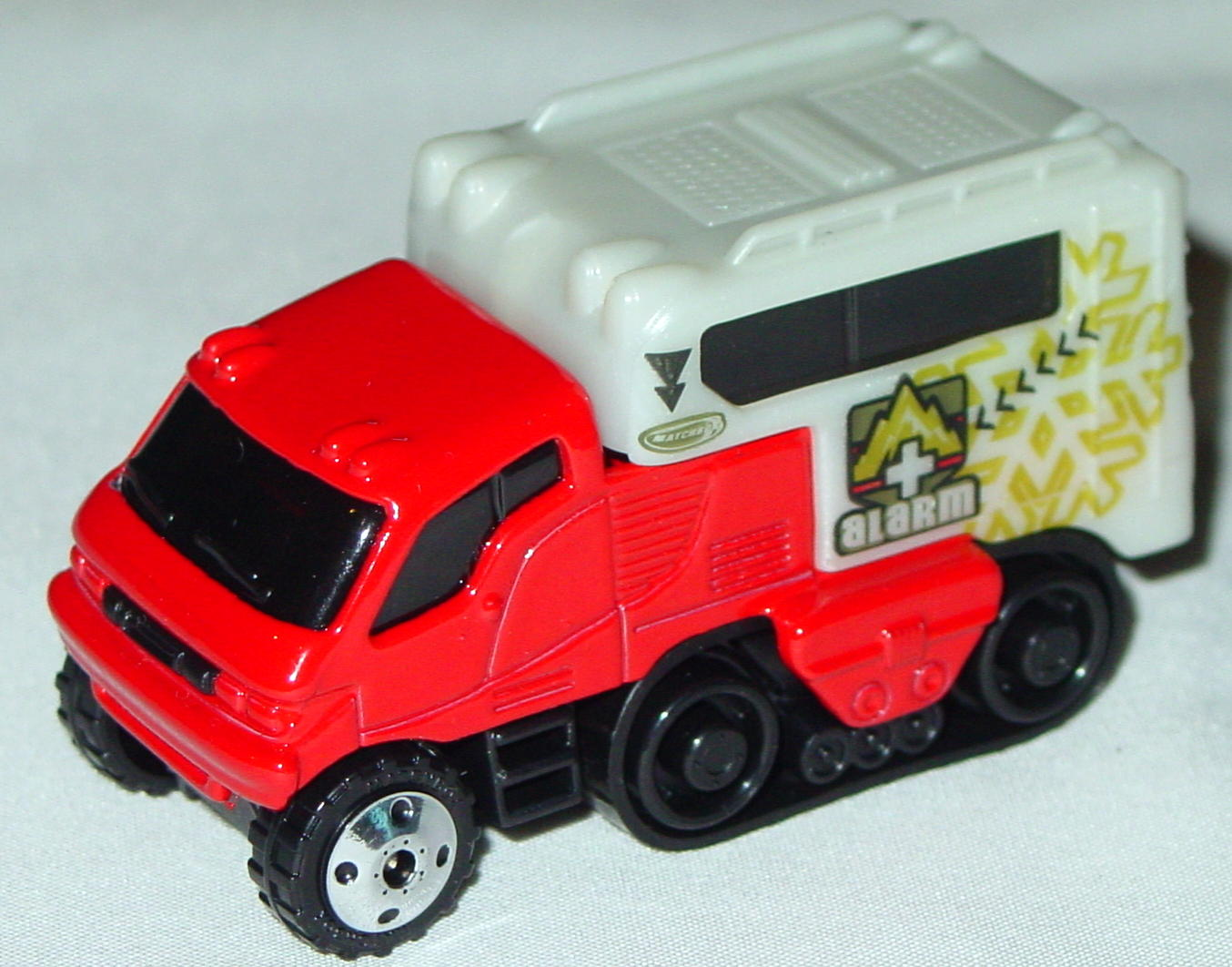 Offshore SuperFast 06 I 11 - Arctic Track Truck Red p-white Alarm made in China