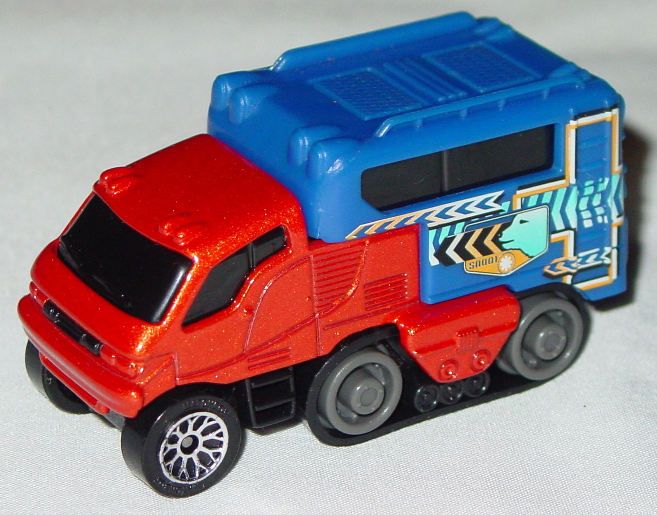 Offshore SuperFast 06 I 6 - 2002 68 Arctic Track Truck met Brnz blue cont lace