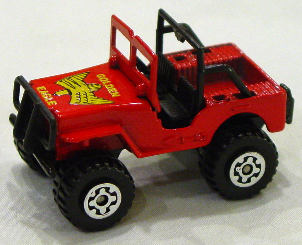 Offshore SuperFast 05 D 4 - 4x4 Jeep bright red black base Golden Eagle MACAU