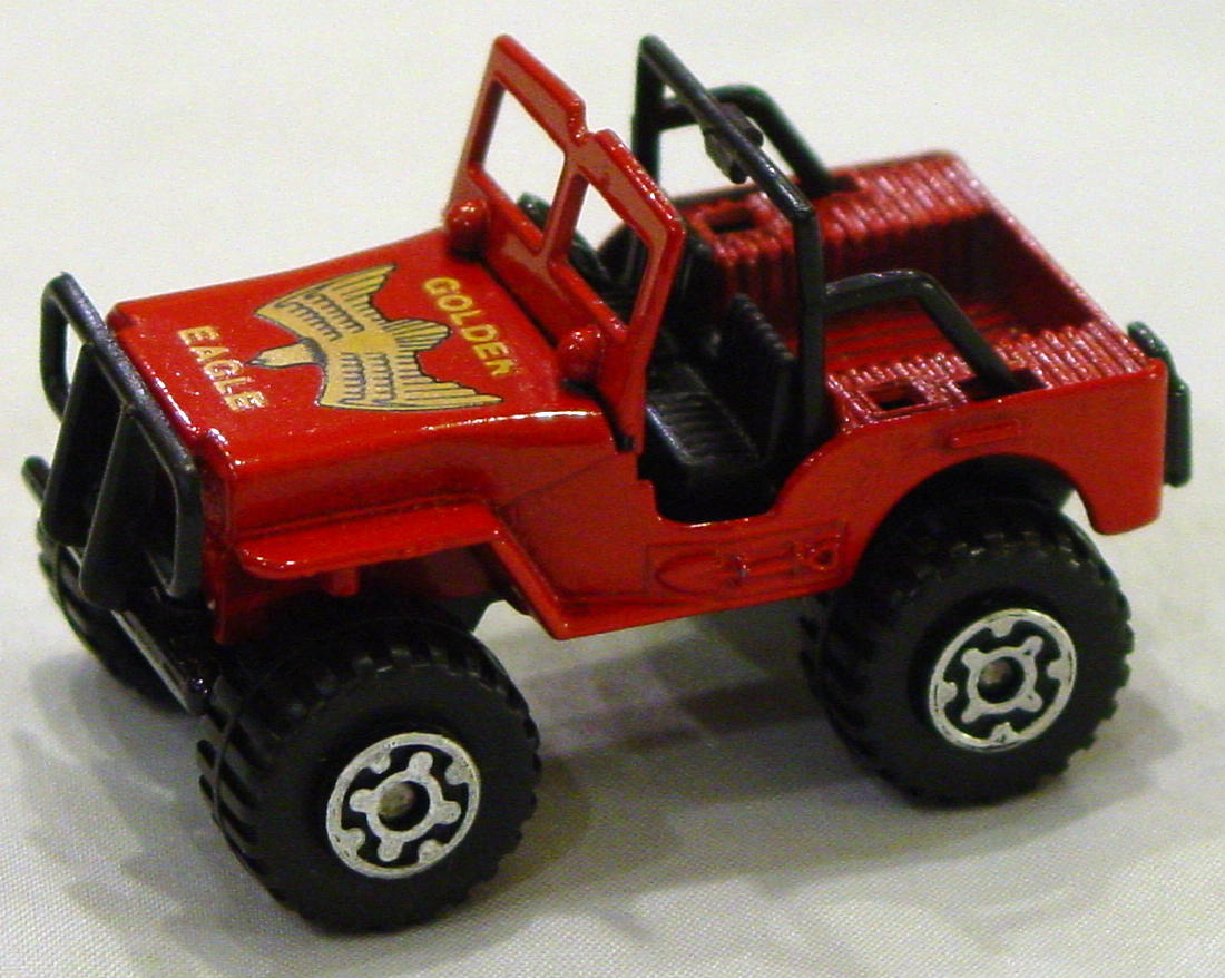 Offshore SuperFast 05 D 4 - 4x4 Jeep dull red black base Golden Eagle MACAU