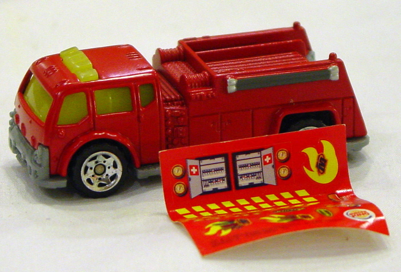 Offshore SuperFast - BURGER KING EUROPE BK004 Water Pumper Red