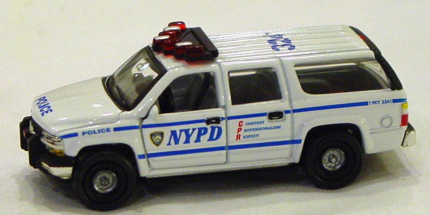 Offshore SuperFast - FEATURE CAR EMERGENCY FC01-A1 Suburban Pol NYPD