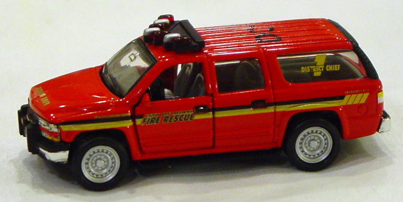Offshore SuperFast - FEATURE CAR EMERGENCY FC01-A2 Suburban Fire Rescue
