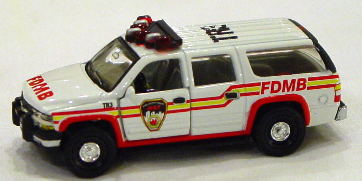 Offshore SuperFast - FEATURE CAR EMERG KB FC01-A3 Suburban Fire FDMB