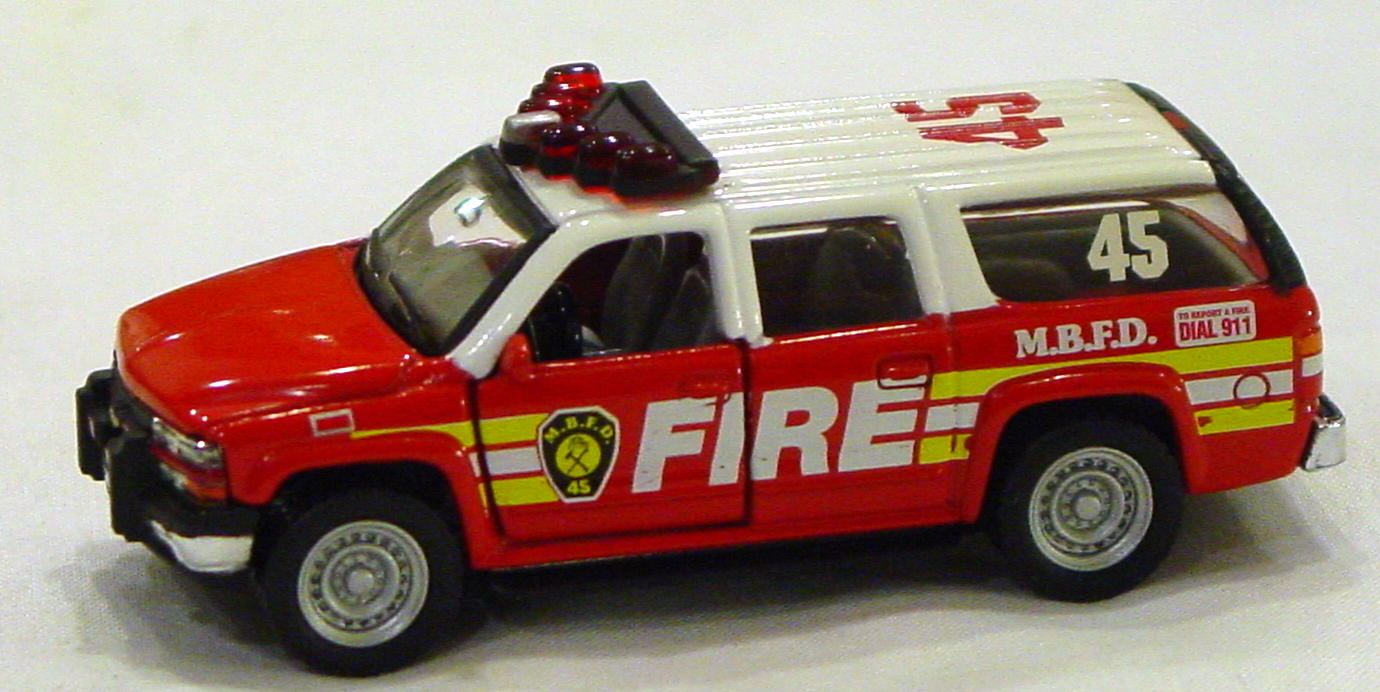 Offshore SuperFast - FEATURE CAR EMERGENCY FC01-A5 Suburban Fire MBFD