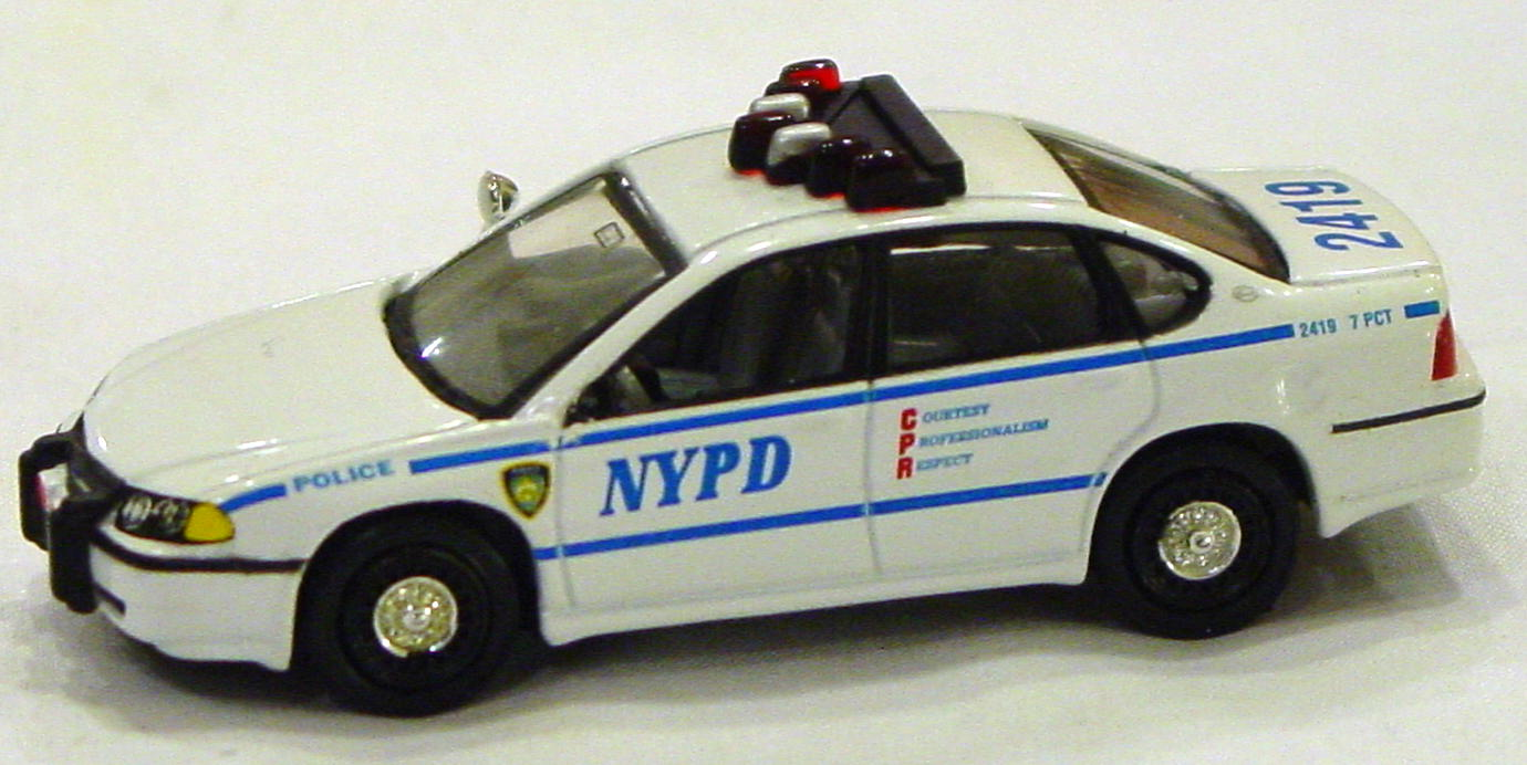 Offshore SuperFast - FEATURE CAR EMERGENCY FC02-A1 Impala NYPD