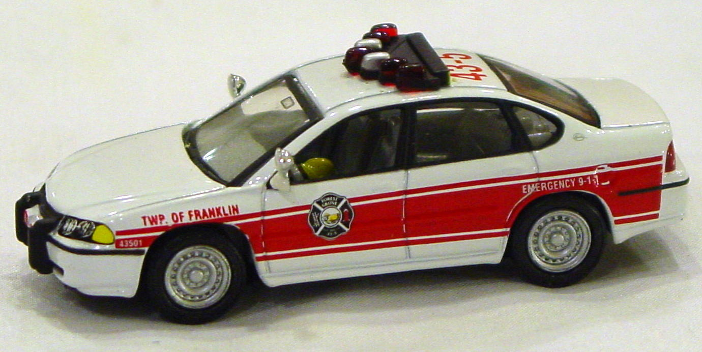 Offshore SuperFast - FEATURE CAR EMERGENCY FC02-A2 Impala Fire Franklin