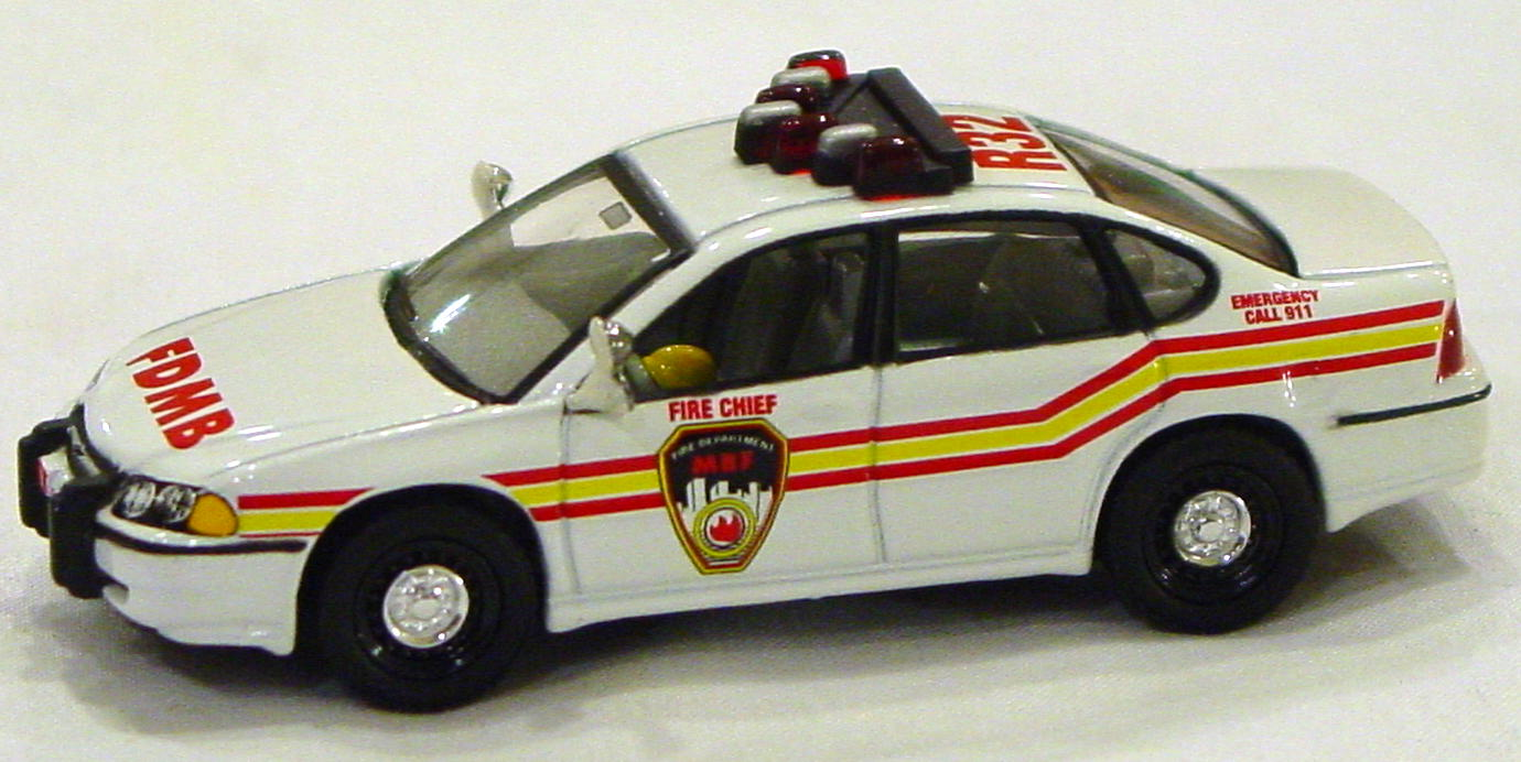 Offshore SuperFast - FEATURE CAR EMERGENCY KB FC02-A5 Impala Fire FDMB