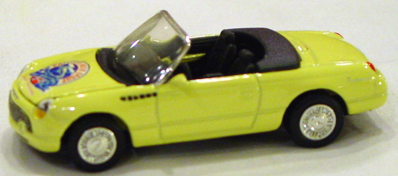 ASAP-CCI - MOTOR TREND FC11-1 T-Bird convertible pale Yellow Pacifico