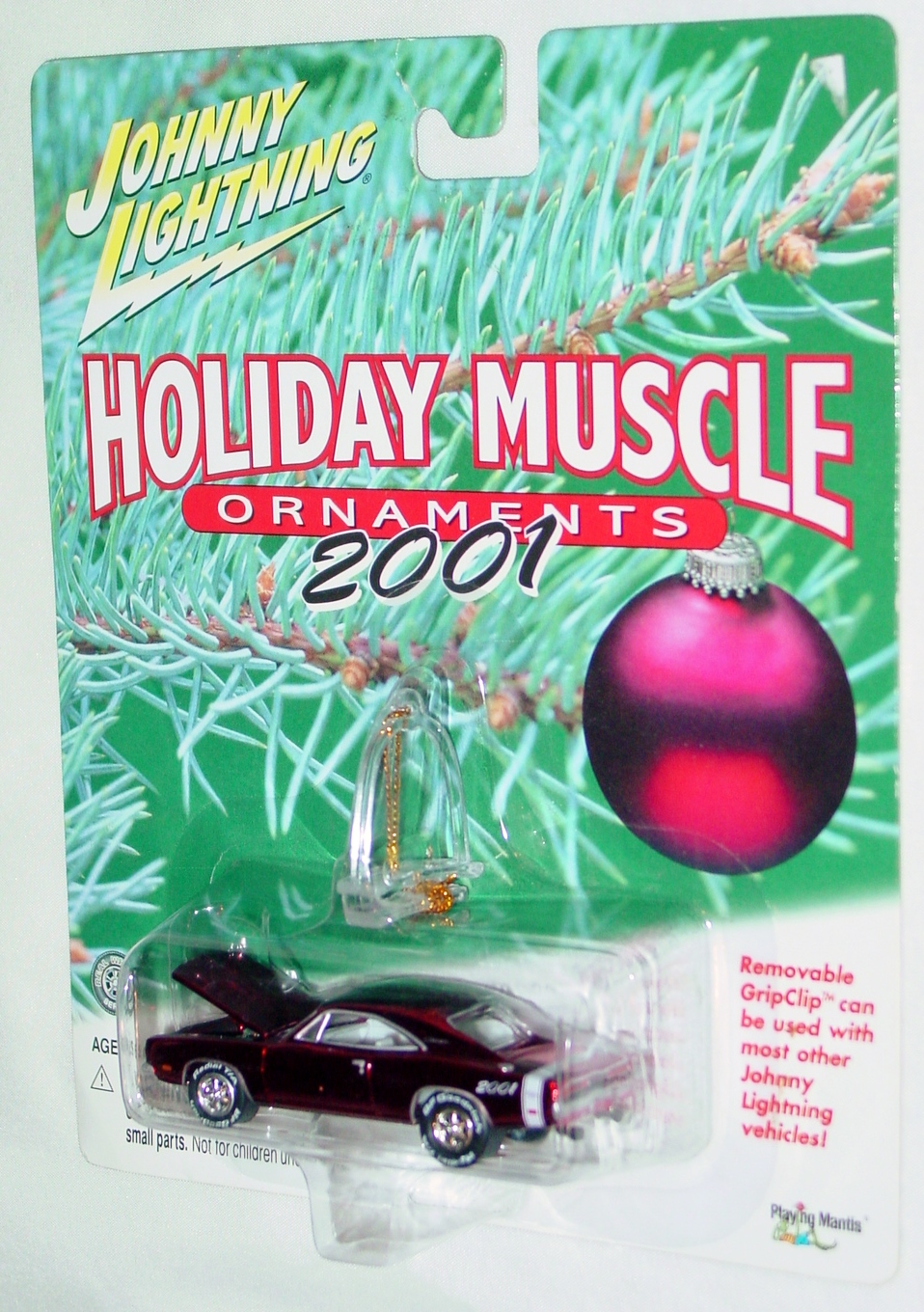 White Lightning - Holiday Muscle 69 Charger RT Magenta