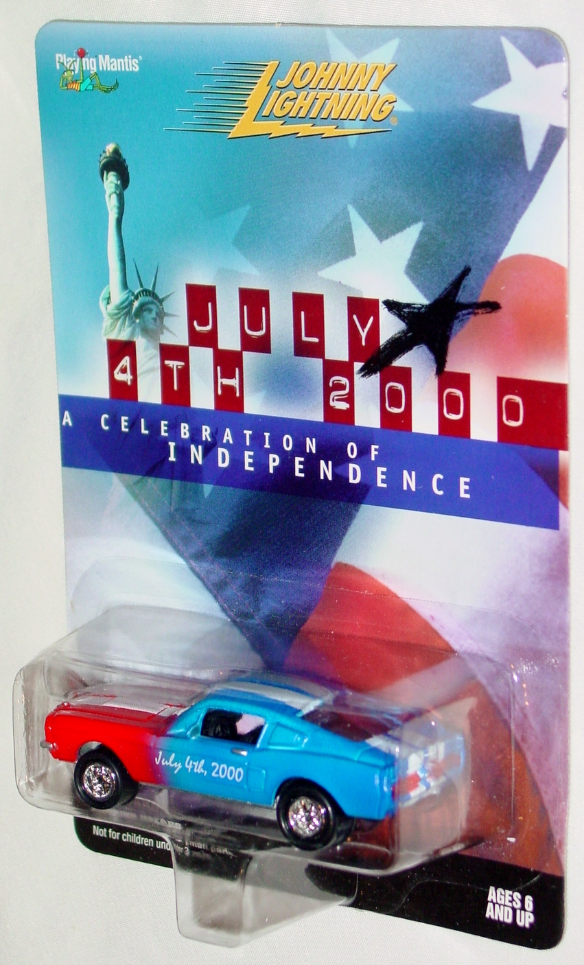 White Lightning - JULY 4TH 2000 Shelby Red and Blue and White Ltd 5000
