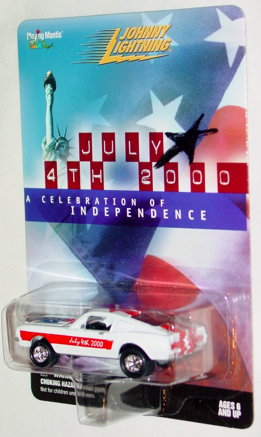 White Lightning - JULY 4TH 2000 Shelby White and Red and Blue Ltd 5000