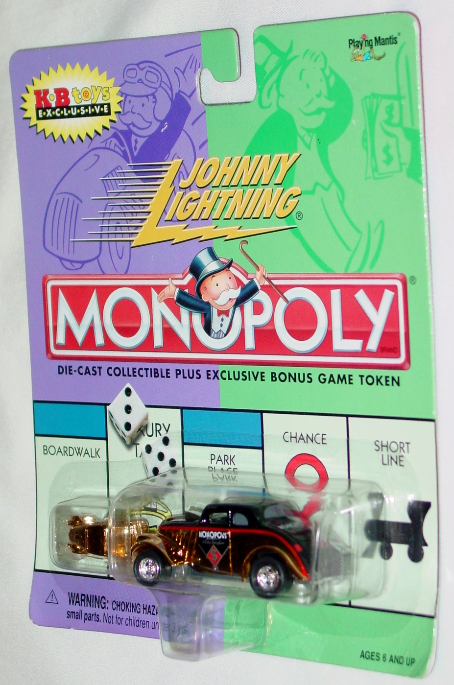White Lightning - Monopoly Vintage Willys Gold KB Exc
