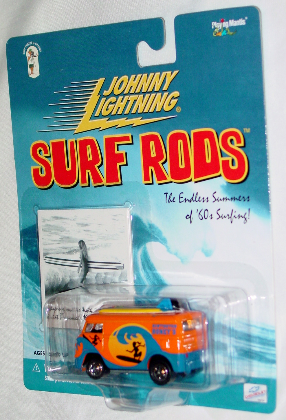 White Lightning - Surf Rod VW Bus Huntington Honies Orange