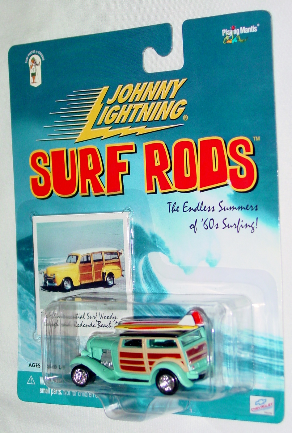 White Lightning - Surf Rod Da Surf Woody pale blue